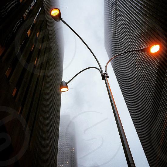 three street light photography photo