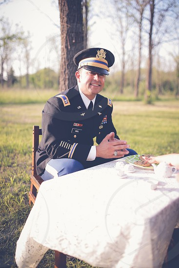 US Army Cpt Creel Aviation Pilot  photo