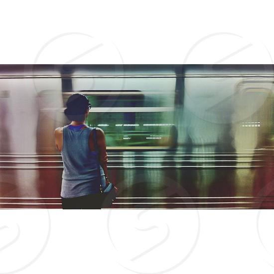Subway - Manhattan NYC  2013  photo