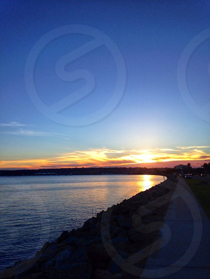 seawall view photo