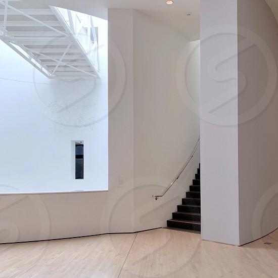Museum stairway  photo