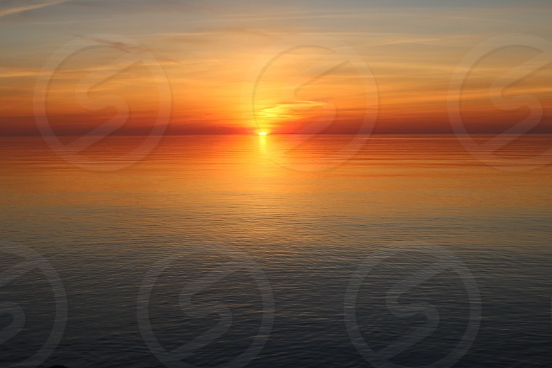 Lake Ontario Sunset Canada Sunset photo