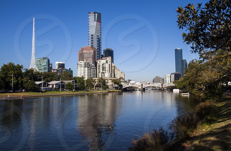 Eureka Tower Melbourne Australia. photo
