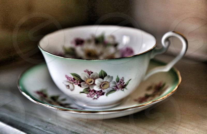 Vintage Teacup photo