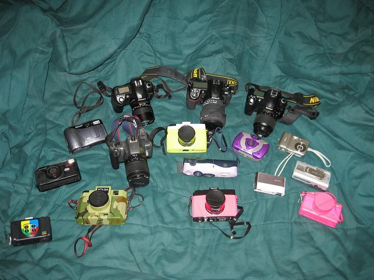 Camera collection photo