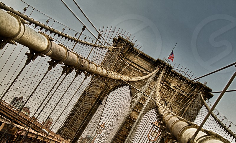 beige bridge  pipe photo