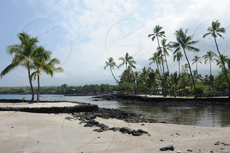 Pu'uhonua O Honaunau National Historical Park Hawaii USA. photo