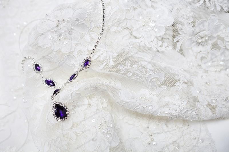 Wedding Item - Lace necklace photo
