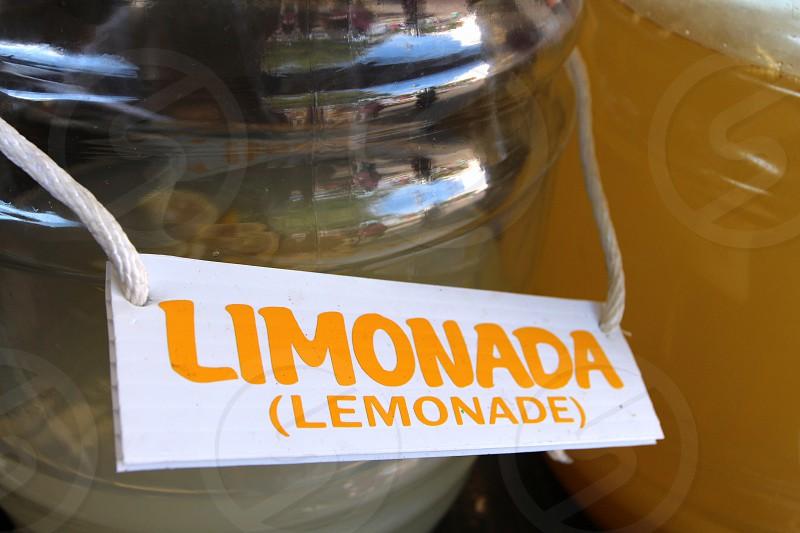 Limonada lemonade sign  state fair food photo
