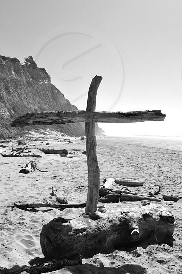 Isolated Beach Church photo