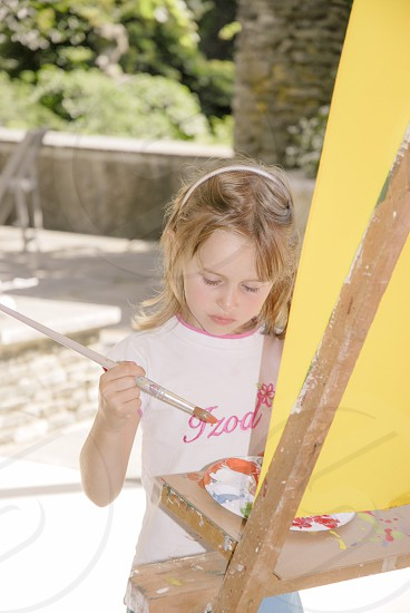 Children's Painting Day at the park photo