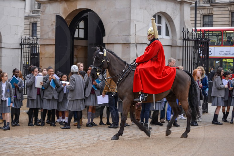 Lifeguard of the Queens Household Cavalry photo