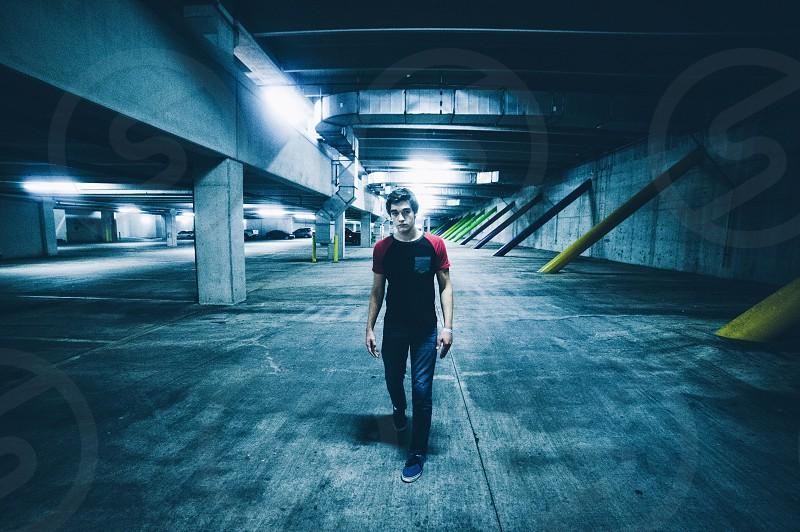 Underground.  photo