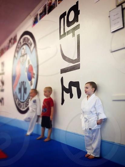 Martial Arts Tae Kwon Do Karate Kids Sports photo