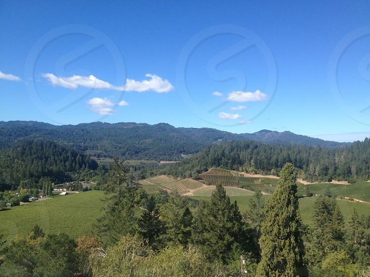 View from St Helena Hospital St helenaCa photo