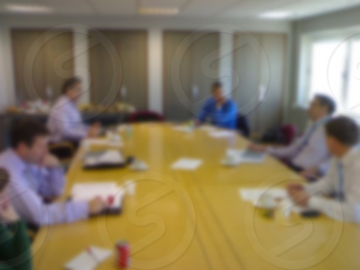 Office meeting Blurred 3 photo