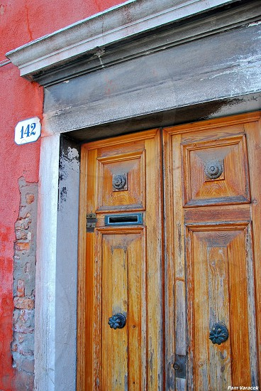 Doorway in Venice photo