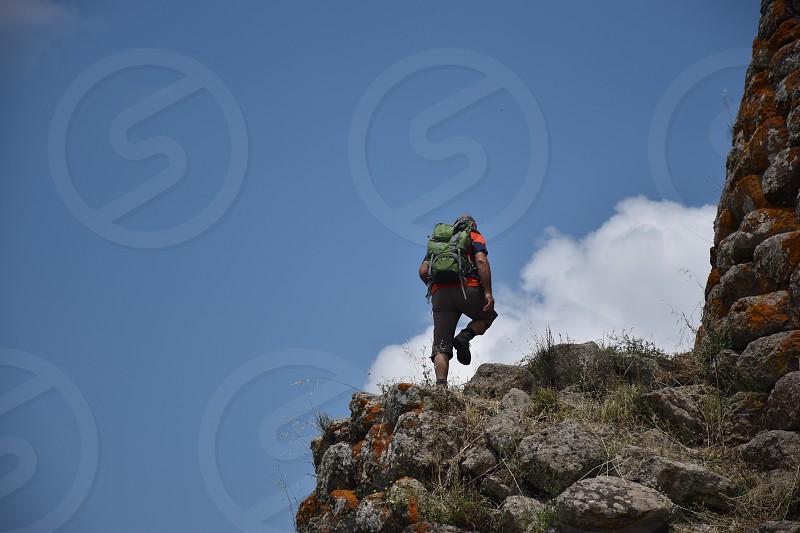 Hiking in Sardinia Italy photo