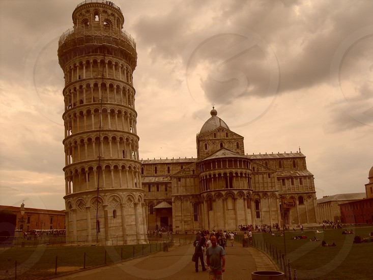 Storm over Pisa photo