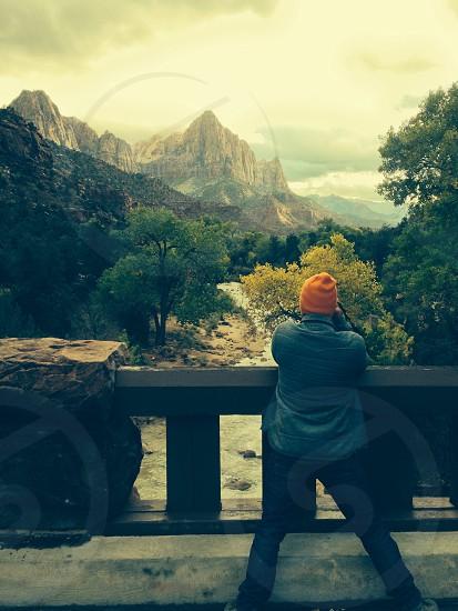 Zion national Park UT photo