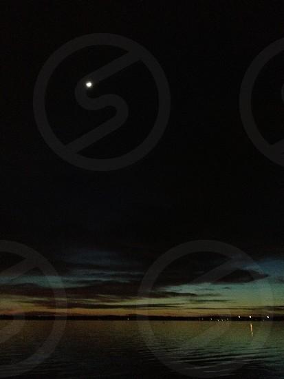 Sunset on Tampa Bay. Oldsmar FL photo