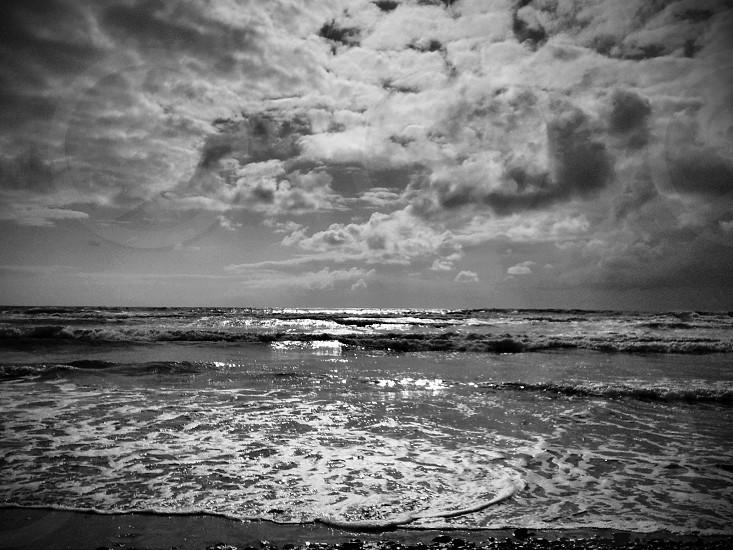 B&W Beach photo