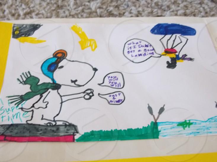 snoopy cartoon character photo