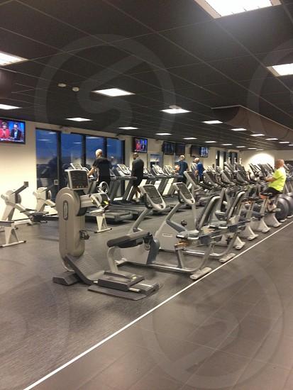 gym exercise machine photo