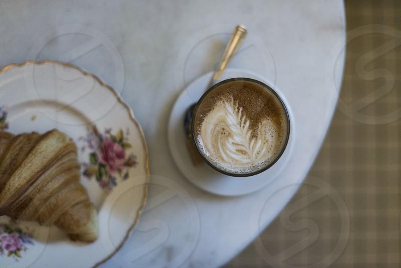 Coffee x Croissant photo