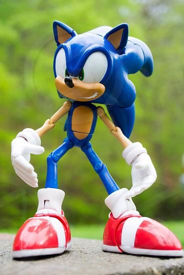 Sonic action figure  photo