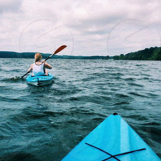 Kayaking in Tennessee with Sisters photo