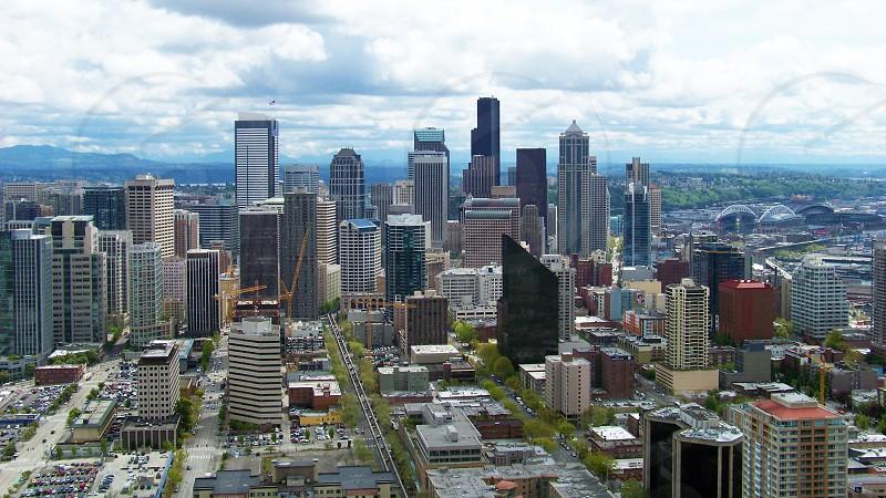 Downtown Seattle WA photo