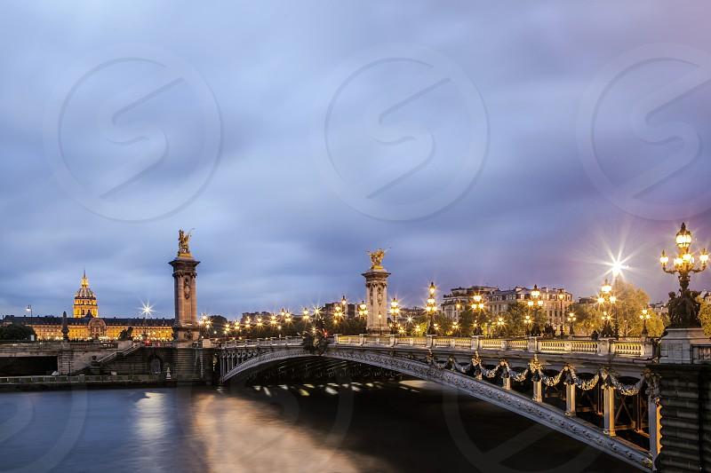 Bridge in Paris photo