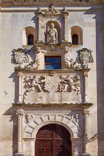 Burgos Cardenal Lopez Mendoza building in Castilla Leon at Spain photo