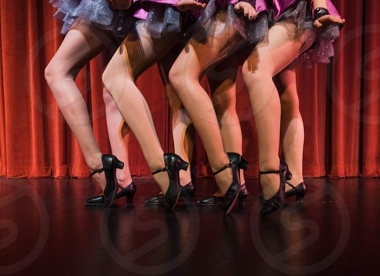 cabaret dancer dance stage theater theatre legs heels photo