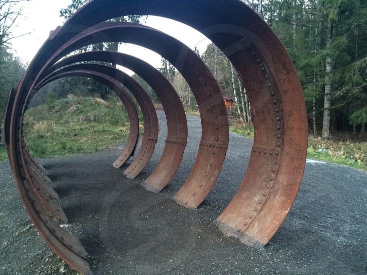 rused metal tunnel photo