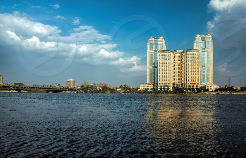 Fairmont Nile City Hotel and Nile City Towers Cairo Egypt photo