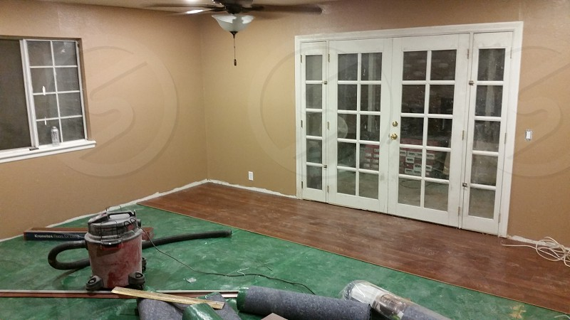 Flooring in progress! photo