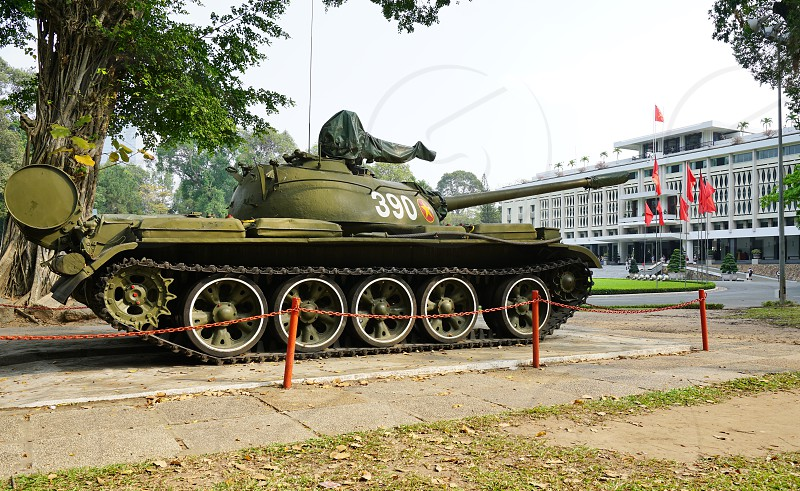 The Independence Palace in Ho Chi Minh City formerly Saigon Vietnam photo