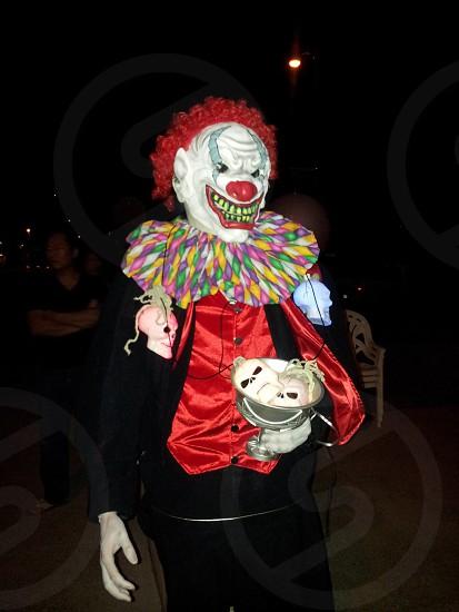 Scary Clown  photo