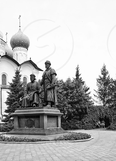 A monument in Kazan photo
