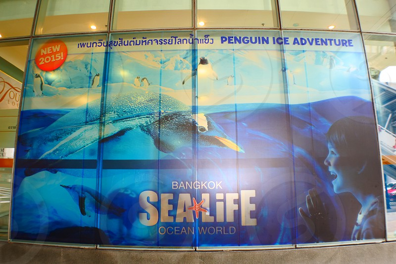 Sea Life Bangkok Ocean World is an aquarium in Bangkok Thailand the largest in South East Asia.  The Sea Life Bangkok Ocean World Bangkok aims to provide both entertainment and education to visitors. photo