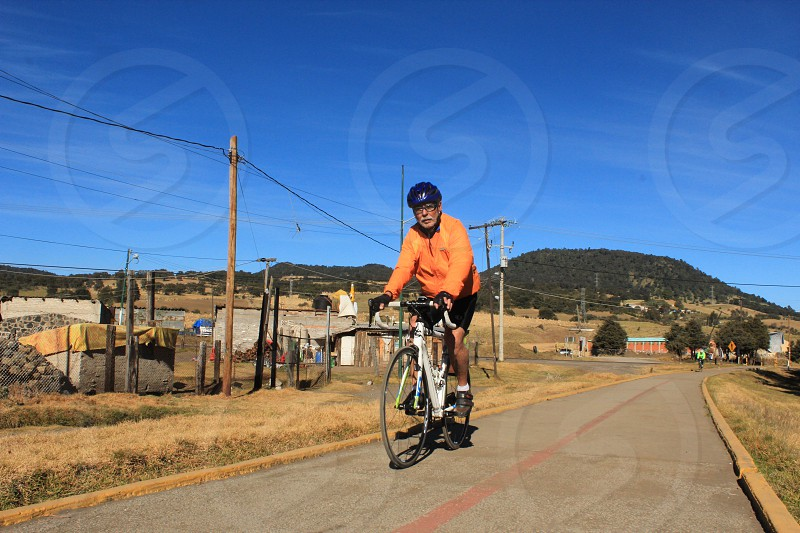 Bici country men bicycle  photo