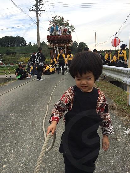 お祭り festival photo