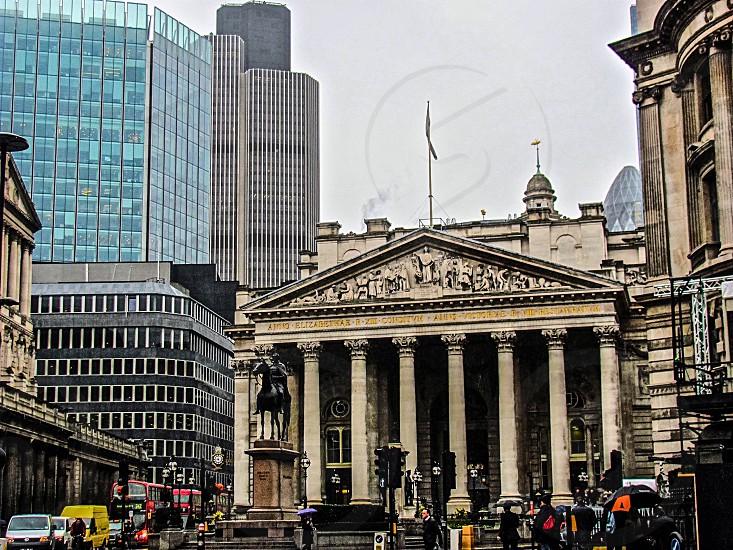 London city life.  photo