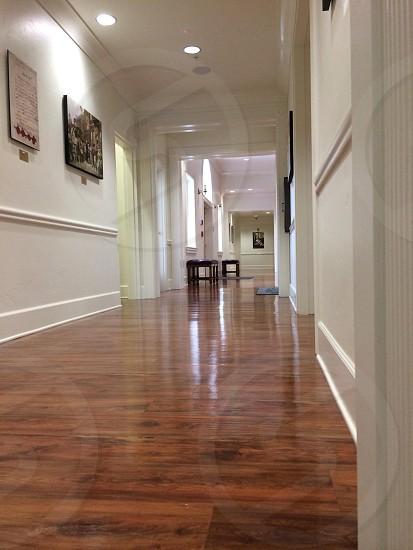 brown wooden floor photo