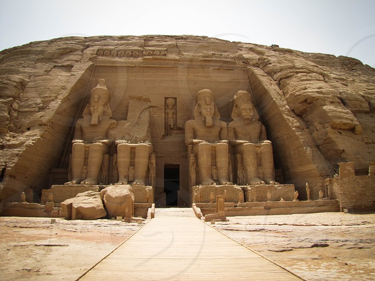 Abu Simbel Egypt photo