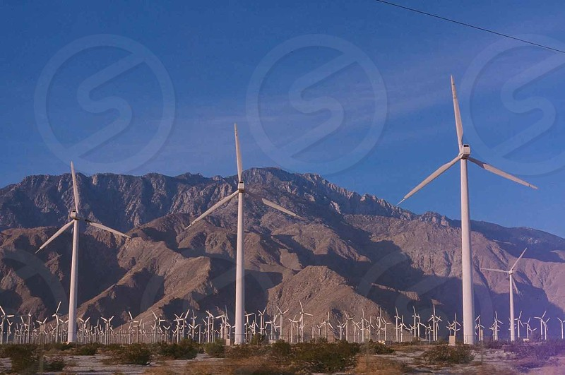 electric wind mills photo