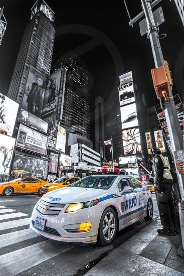 NYC New York City urban city nypd Times Square taxi skyscraperarchitecture photo
