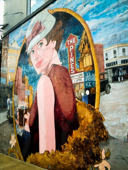 Wall street art photo